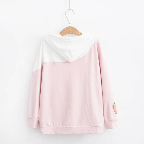 Women's Bunny Designed Hoodie Hoodies & Sweatshirts Women's Clothing & Accessories