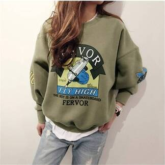 Women's Casual Printed Sweatshirt Hoodies & Sweatshirts Women's Clothing & Accessories