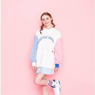 Women's Cute Korean Themed Sweatshirt Hoodies & Sweatshirts Women's Clothing & Accessories