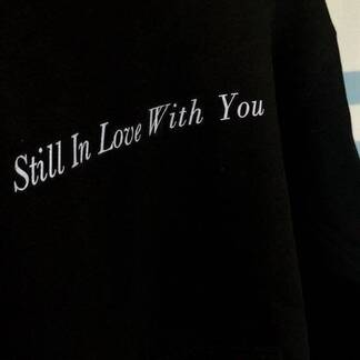 "Women's Hoodie ""Still In Love With You"" Hoodies & Sweatshirts Women's Clothing & Accessories"