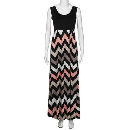 Women's Summer Geometrical Patterned Dress Dresses Women's Clothing & Accessories
