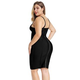 Women's Plus Size Mini Black Dress Dresses Women's Clothing & Accessories