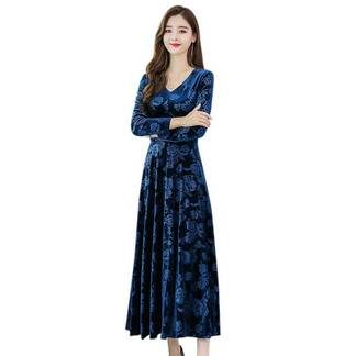 Women's Floral Elegant A-Line Dress Dresses Women's Clothing & Accessories