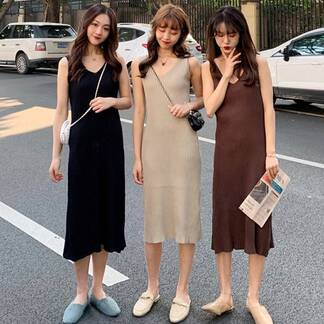 Women's Minimalistic Casual Maxi Dress Dresses Women's Clothing & Accessories