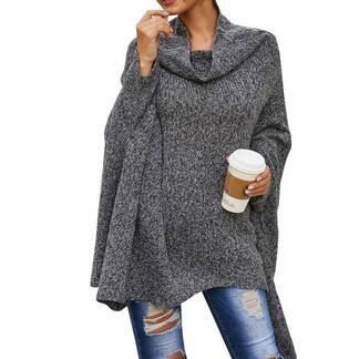 Women's Loose Bat Style Sweater Sweaters Women's Clothing & Accessories