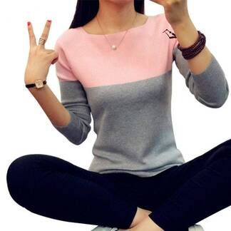 Fashion Casual Soft Cashmere Women's Sweater Pullovers Women's Clothing & Accessories