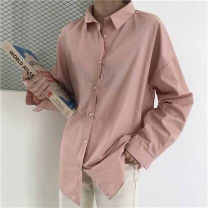 Casual Loose Shirt for Women Blouses & Shirts Women's Clothing & Accessories