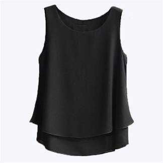Women's Casual Sleeveless Shirt Blouses & Shirts Women's Clothing & Accessories