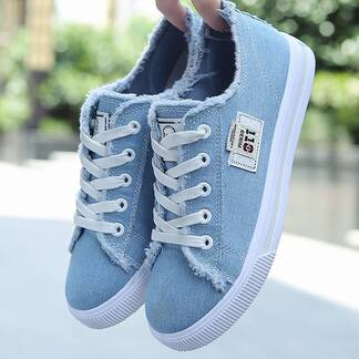 Women's Classic Canvas Summer Shoes Women Shoes Women's Vulcanized Shoes