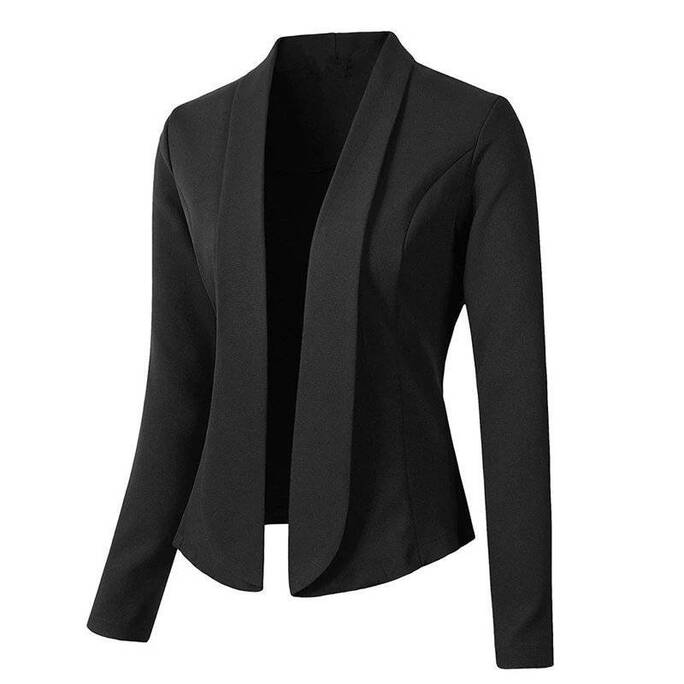 Casual Styled Solid Women's Blazer Basic Jackets Jackets & Coats Women's Clothing & Accessories