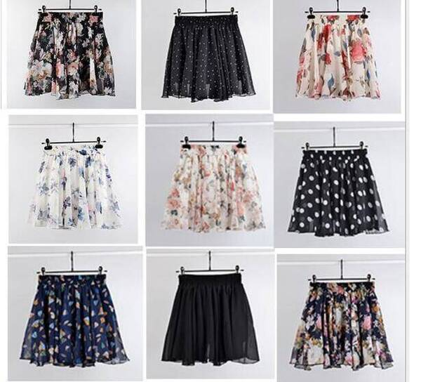 Floral Mini Skirt for Summer Bottoms Skirts Women's Clothing & Accessories