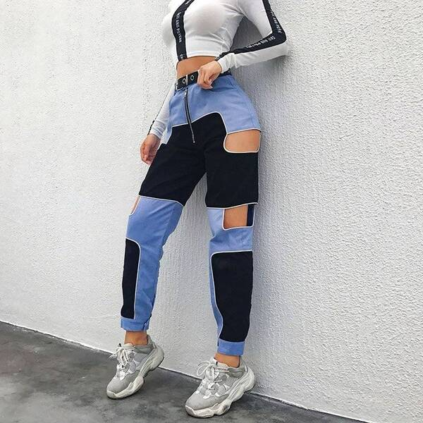 Harajuku Pants with High Waist for Women Bottoms Pants & Capris Women's Clothing & Accessories
