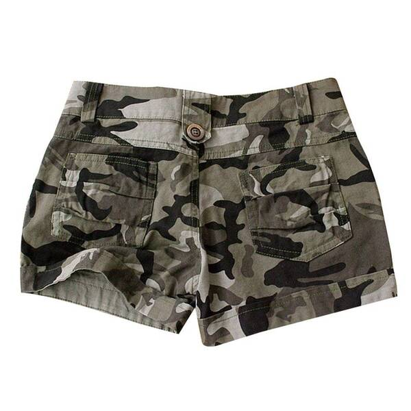 Military Styled Shorts for Women with Camouflage Prints Bottoms Shorts Women's Clothing & Accessories