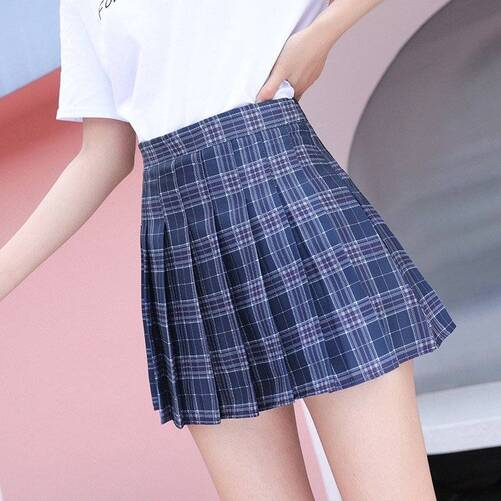 Pleated Skirt for Girls Bottoms Skirts Women's Clothing & Accessories