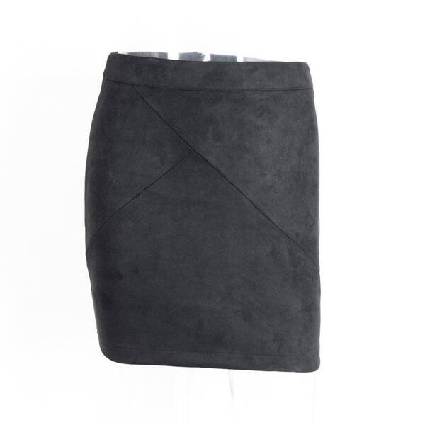Sexy Suede Pencil Skirt Bottoms Skirts Women's Clothing & Accessories