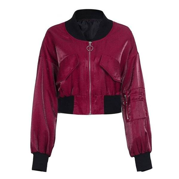 Women's Bat Sleeved Jacket Down Jackets Jackets & Coats Women's Clothing & Accessories