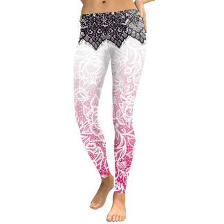 Women's Bohemian Printed Leggings Bottoms Leggings Women's Clothing & Accessories