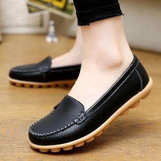 Women's Casual Leather Summer Loafers Loafers Women Shoes