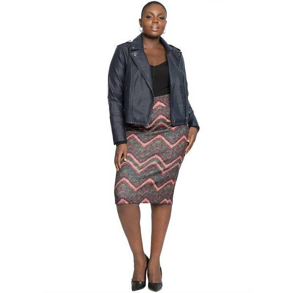 Women's Casual Midi Striped Office Pencil Skirt Bottoms Skirts Women's Clothing & Accessories