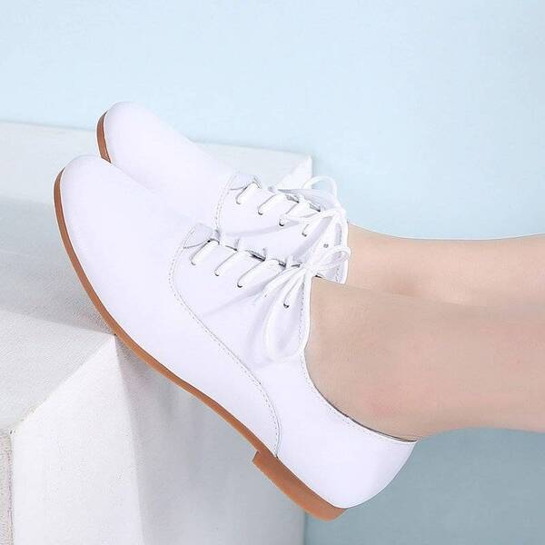 Women's Classic Lace-up Summer Shoes Women Shoes Women's Flats