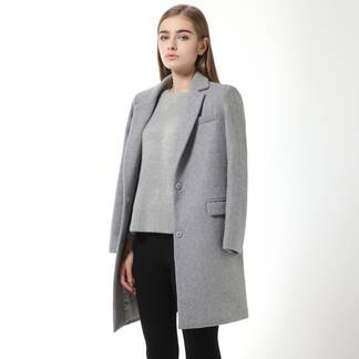 Women's Classic Long Wool Coat Coats Jackets & Coats Women's Clothing & Accessories