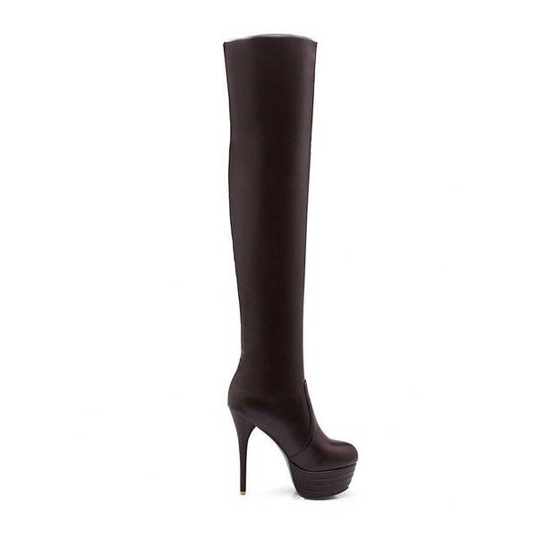 Women's Dominatrix Over the Knee Boots Women Shoes Women's Boots