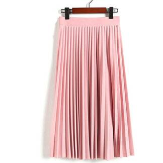 Women's High Waist Pleated Skirt Bottoms Skirts Women's Clothing & Accessories