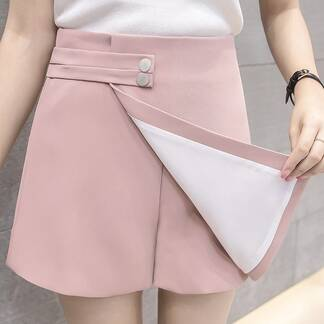 Women's High Waist Suede Shorts Bottoms Shorts Women's Clothing & Accessories