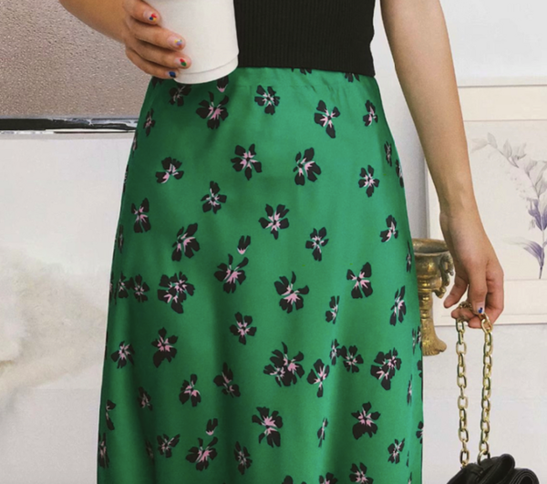 Women's High Waisted Midi Skirt Bottoms Skirts Women's Clothing & Accessories