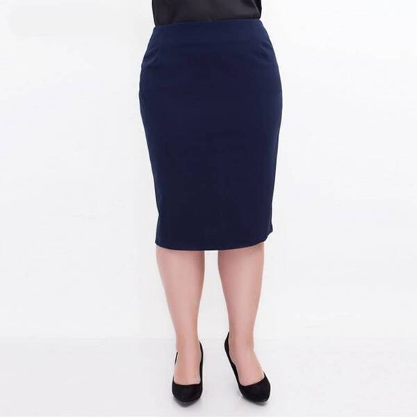 Women's Office Plus Size Skirt Bottoms Skirts Women's Clothing & Accessories