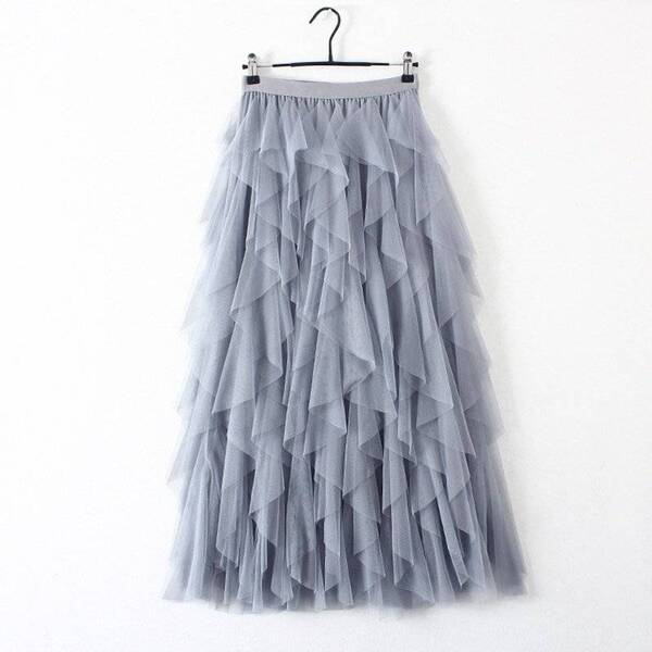 Women's Pleated Multilayered Tulle Skirt Bottoms Skirts Women's Clothing & Accessories
