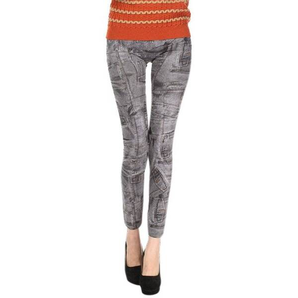 Women's Skinny Mid Waist Jeans Bottoms Jeans Women's Clothing & Accessories