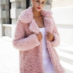 Women's Soft Fluffy Coat Coats Jackets & Coats Women's Clothing & Accessories