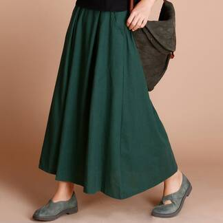 Women's Vintage Maxi Cotton Skirt Bottoms Skirts Women's Clothing & Accessories