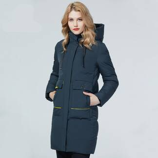 Women's Winter Hooded Coat Basic Jackets Jackets & Coats Women's Clothing & Accessories
