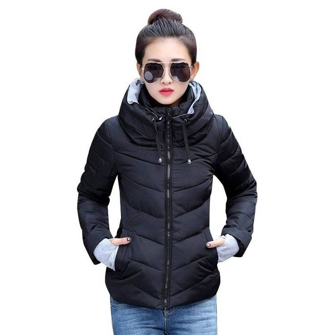 Women's Winter Jacket Down Jackets Jackets & Coats Women's Clothing & Accessories