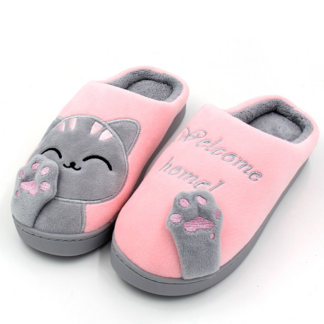 Women`s Winter Non-Slip Soft Slippers Slippers Women Shoes