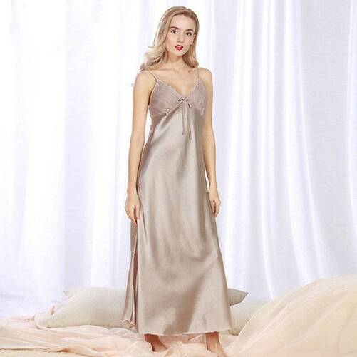 Long Women's Negligee in Different Colors Nightgowns & Sleepshirts Sleepwear & Loungwear Women's Clothing & Accessories