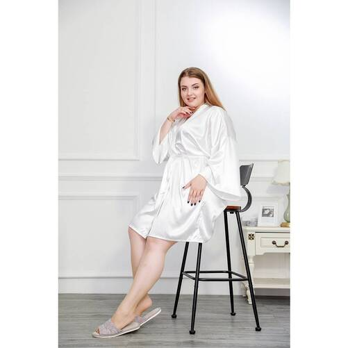 Plus Size Women's Robe in Different Colors Robes Sleepwear & Loungwear Women's Clothing & Accessories