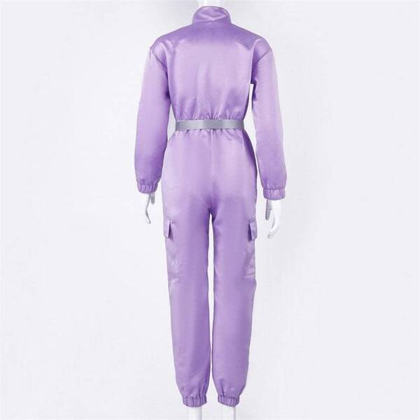 Purple Colored Jumpsuit Set for Women Jumpsuits Suits & Sets Women's Clothing & Accessories