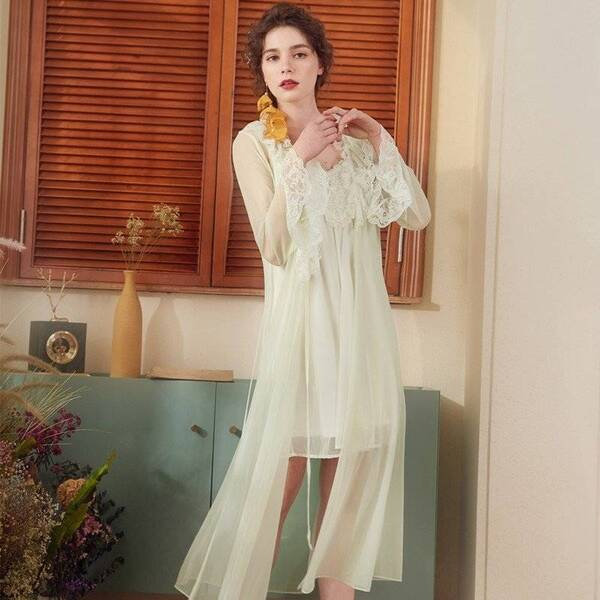 See-Through Women's Robe in Different Colors Robes Sleepwear & Loungwear Women's Clothing & Accessories