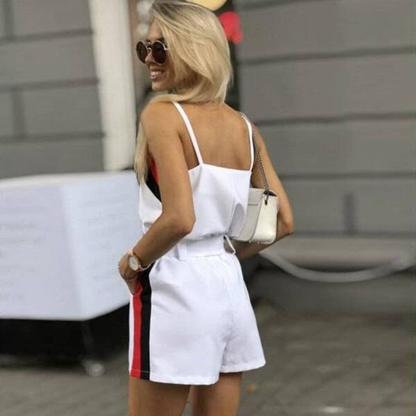 Summer Sling Top with Shorts Set for Women Pants & Shorts Suits Suits & Sets Women's Clothing & Accessories