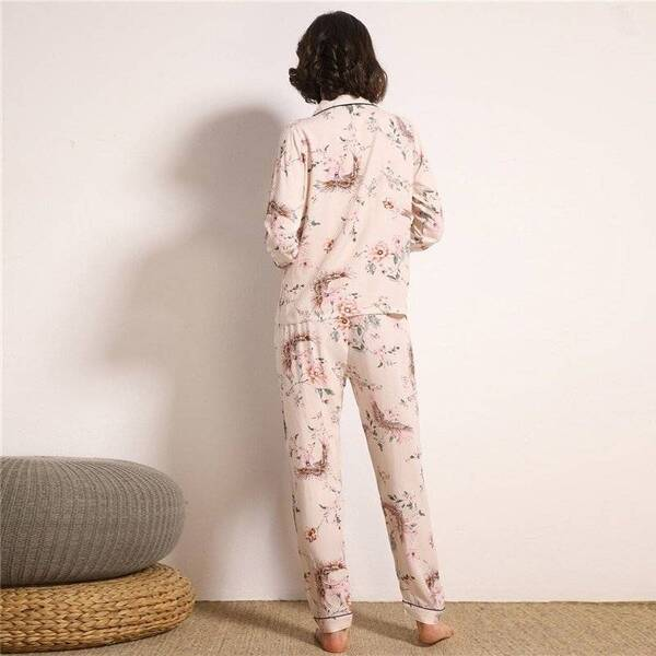 Women's Pajama Pants and Shirt in Pink Pajama Sets Sleepwear & Loungwear Women's Clothing & Accessories
