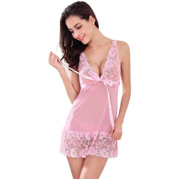 Women's Sleeveless Lace Sleep Gown Nightgowns & Sleepshirts Sleepwear & Loungwear Women's Clothing & Accessories