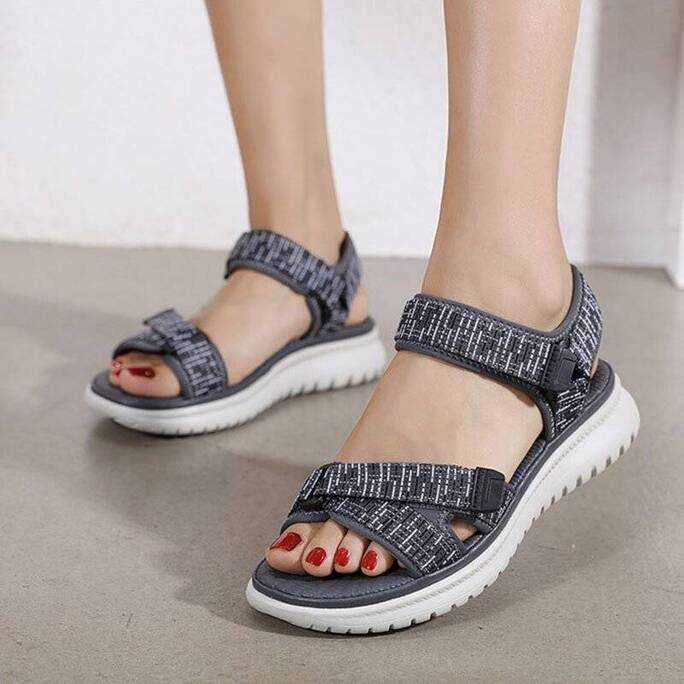 2021 Fashion Sandals Women Summer Shoes Soft Comfortable Women Beach Sandals Young Ladies Casual Shoes Plus Size 42 A3479 Women Shoes Women's Sandals