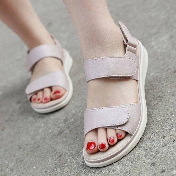 2021 Summer Shoes Women Sandals Holiday Beach Wedges Sandals Women Slippers Soft Comfortable Ladies Summer Slippers A2121 Women Shoes Women's Sandals