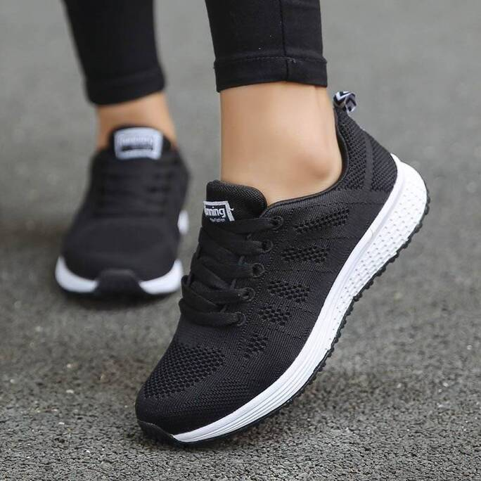 Casual Style Breathable Sneakers for Women Women Shoes Women's Flats